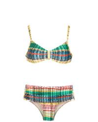 mehrfarbiges Bikinioberteil von Lygia & Nanny