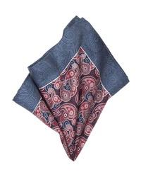 mehrfarbiges Einstecktuch mit Paisley-Muster von Guido Maria Kretschmer
