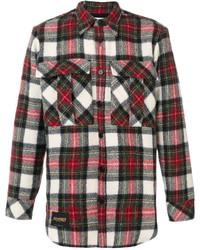 mehrfarbiges Flanell Langarmhemd mit Schottenmuster von Stella McCartney