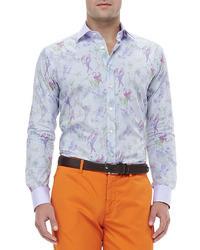 mehrfarbiges Hemd