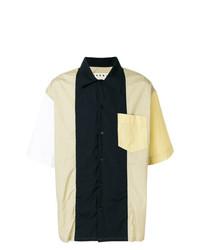 mehrfarbiges Kurzarmhemd von Marni