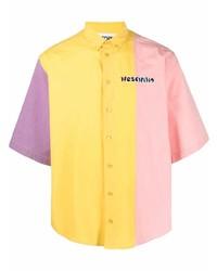 mehrfarbiges Kurzarmhemd von Moschino