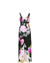 mehrfarbiges Maxikleid mit Blumenmuster von Off-White