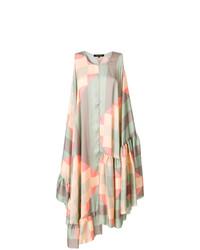 mehrfarbiges schwingendes Kleid von Ter Et Bantine