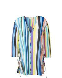 mehrfarbiges Strandkleid von Dvf Diane Von Furstenberg
