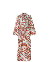 mehrfarbiges Strandkleid von La Doublej