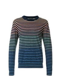 mehrfarbiges Sweatshirt