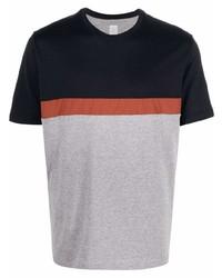 mehrfarbiges T-Shirt mit einem Rundhalsausschnitt von Eleventy