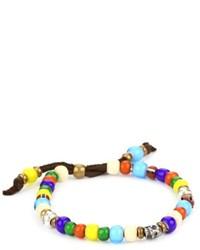 mehrfarbiges verziert mit Perlen Armband