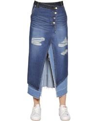 Midirock aus jeans original 9794193