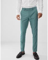 mintgrüne Anzughose von Farah Smart
