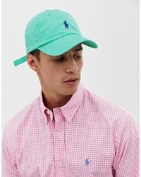mintgrüne Baseballkappe von Polo Ralph Lauren