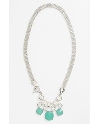 mintgrüne Halskette