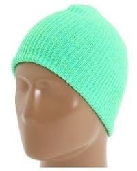 mintgrüne Mütze