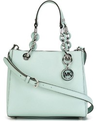 mintgrüne Shopper Tasche aus Leder von MICHAEL Michael Kors