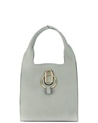 mintgrüne Shopper Tasche aus Leder von Stée
