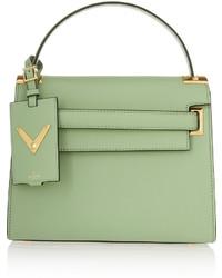 f62a0219cb1d2 Modische mintgrüne Shopper Tasche aus Leder von Valentino für Winter ...