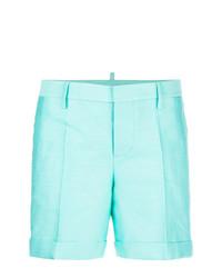 mintgrüne Shorts von Dsquared2