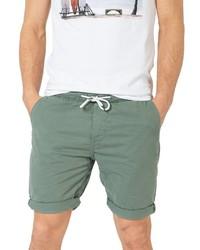 mintgrüne Shorts von Sublevel
