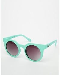 mintgrüne Sonnenbrille von Asos