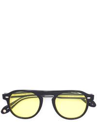 mintgrüne Sonnenbrille von Garrett Leight