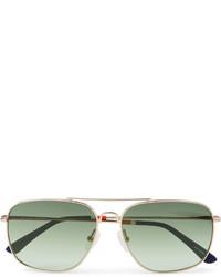 mintgrüne Sonnenbrille von Orlebar Brown