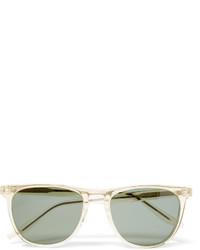 mintgrüne Sonnenbrille