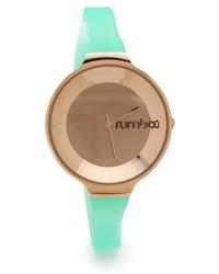 mintgrüne Uhr