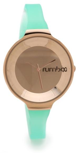mintgrüne Uhr von RumbaTime