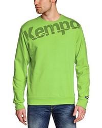 mintgrüner Pullover von Kempa