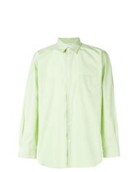 mintgrünes Businesshemd von Comme Des Garcons SHIRT