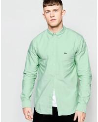 mintgrünes Businesshemd von Lacoste