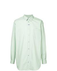 mintgrünes Businesshemd von Martine Rose