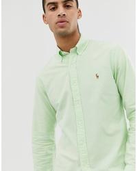 mintgrünes Businesshemd von Polo Ralph Lauren