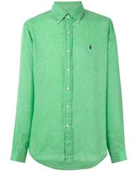 mintgrünes Businesshemd von Ralph Lauren