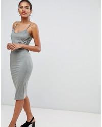 mintgrünes figurbetontes Kleid von Missguided