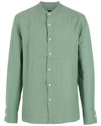 mintgrünes Langarmhemd von OSKLEN