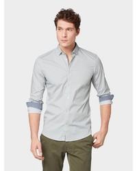 mintgrünes Langarmhemd von Tom Tailor