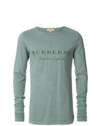 mintgrünes Langarmshirt von Burberry
