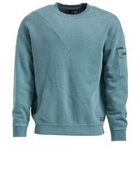mintgrünes Sweatshirt von khujo