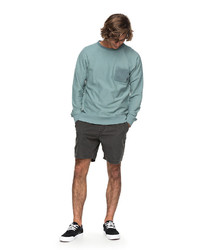 mintgrünes Sweatshirt