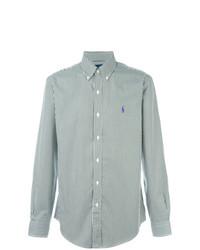 mintgrünes vertikal gestreiftes Businesshemd von Polo Ralph Lauren