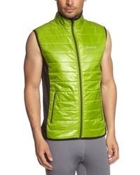 olivgrüne ärmellose Jacke von Marmot