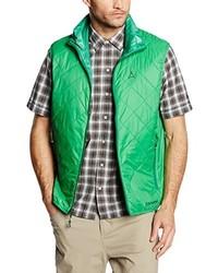 olivgrüne ärmellose Jacke von Schöffel