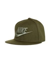 olivgrüne Baseballkappe von Nike