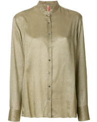 Olivgruene bluse mit knoepfen original 4299679