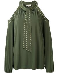 olivgrüne Bluse von Michael Kors