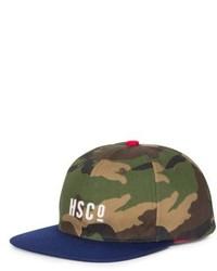 olivgrüne Camouflage Baseballkappe