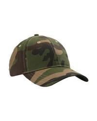 olivgrüne Camouflage Baseballkappe von Missguided