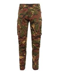 olivgrüne Camouflage Cargohose von G-Star RAW